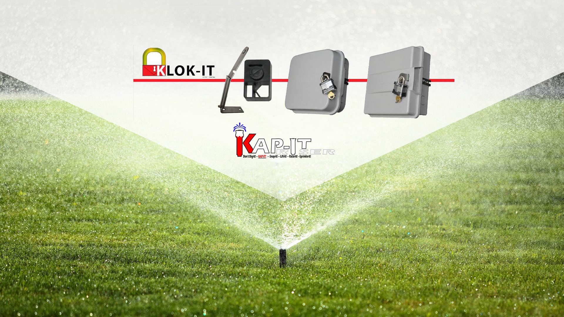 KJ Ketterling Enterprises Klok It, Locking Devices and Sprinkler Clock Security slide 1