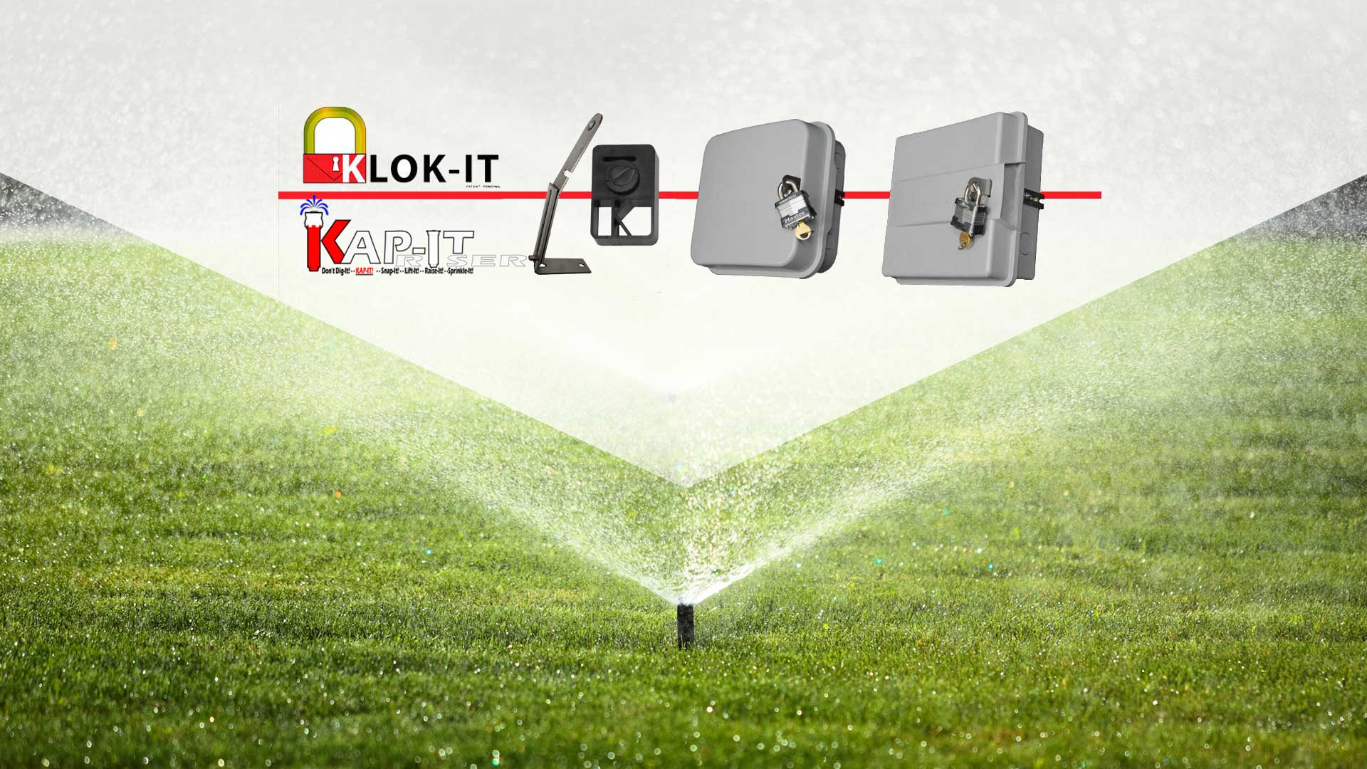 KJ Ketterling Enterprises Klok It, Locking Devices and Sprinkler Clock Security slide 1